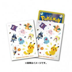Card Sleeves Pokémon Total pattern Shiny Friends