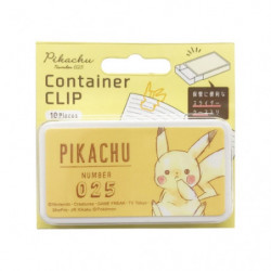 Clip Container Pikachu Yellow Pikachu number025