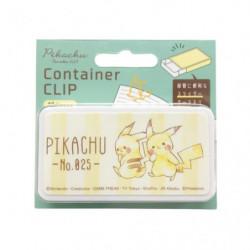 Boîte à trombones Pikachu Mint Pikachu number025
