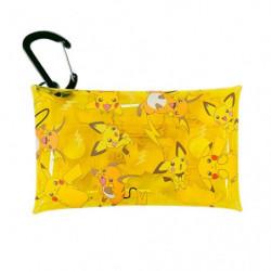 Étui Transparent à Mousqueton Pikachu Friends