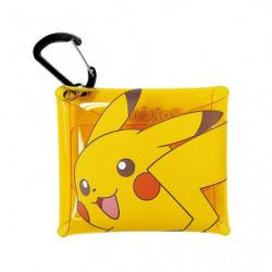 Mini Étui Transparent à Mousqueton Pikachu