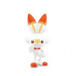 Figure Scorbunny Quick Pokémon Plastic Model