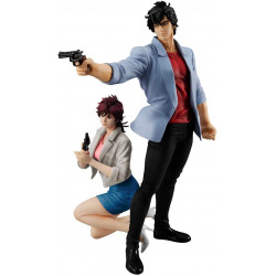 Figures Saeba Ryo and Kaori Makimura Movie Ver. City Hunter G.E.M