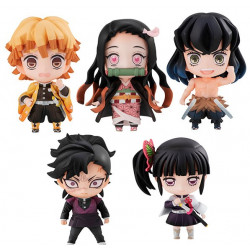 Figures Box Tanjiro s Friends Kimetsu No Yaiba