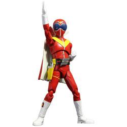 Figure Secret Squadron Red Power Rangers HAF