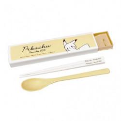 Chopsticks Spoon Set Pikachu number025