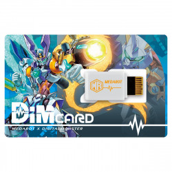 Dim carte MEDABOT x DIGITAL MONSTER Digimon