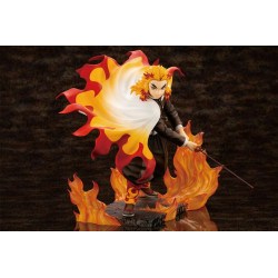 Figurine Rengoku Kyojuro Flame Purgatory Kimetsu No Yaiba ARTFX J