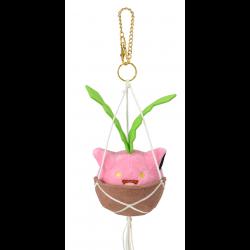 Plush Keychain Hoppip Pokémon Grassy Gardening