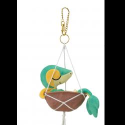 Plush Keychain Snivy Pokémon Grassy Gardening