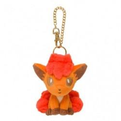 Plush Keychain Vulpix Crystal Season japan plush