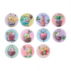 Badge Collection Pokémon Grassy Gardening