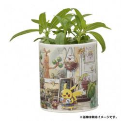 Plant Set White Zinnia Pokémon Grassy Gardening