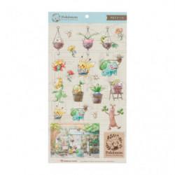 Stickers Pokémon Grassy Gardening