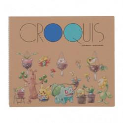 Sketchbook Pokémon Grassy Gardening CROQUIS