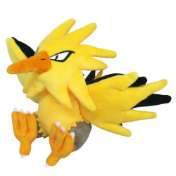 Plush Zapdos Pokémon ALL STAR COLLECTION