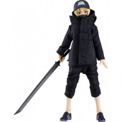 figma Female Body Yuki Techwear Outfit