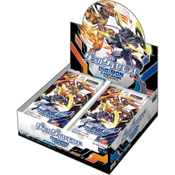 Double Diamond Booster Box Digimon BT-06