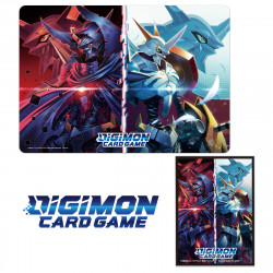 Protèges-cartes Tapis jeu Set 2 Digimon