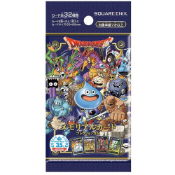 35th Anniversary Collection Gum Booster Card Dragon Quest