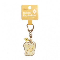 Porte-clés Initial K Pikachu number025