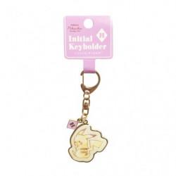 Porte-clés Initial H Pikachu number025