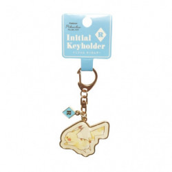 Keychain Initial R Pikachu number025