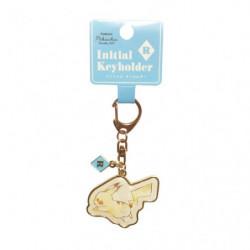 Porte-clés Initial R Pikachu number025