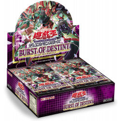 BURST OF DESTINY Booster Box Yu-Gi-Oh!