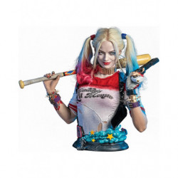 Bust Statue Harley Quinn Suicide Squad Live Size Bust