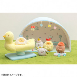 Plush Minikko and Asobo Theme Scene Sumikko Gurashi