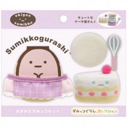 Plush Cake Shop Set Sumikko Gurashi
