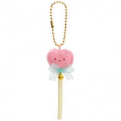 Plush Keychain Pink Heart Sumikko Gurashi