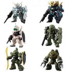 Figurines Special Selection Set UC Mobile Suit Gundam CONVERGE