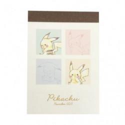Mini Mémos Colorful Pikachu number025