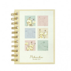 Spiral Notebook Colorful Pikachu number025