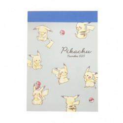Mini Memo Ippai Pikachu number025