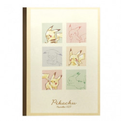Cahier Colorful Pikachu number025