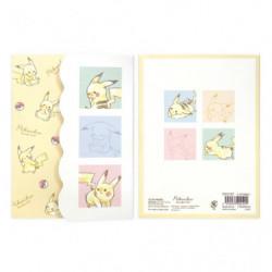 Memo Set Colorful Pikachu number025