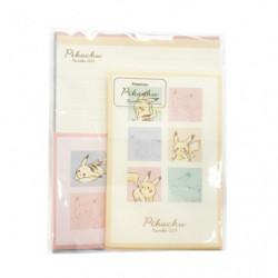 Enveloppes papier à lettre Set Volume Up Colorful Pikachu number025
