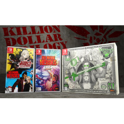 Game No More Heroes III KILLION DOLLAR TRILOGY Famitsu DX Pack Switch