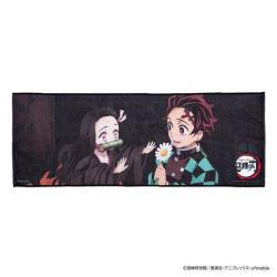 Serviette Nezuko et Tanjiro B Kimetsu No Yaiba