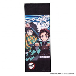 Towel Tanjiro and Giyu A Kimetsu No Yaiba