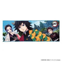 Towel Tanjiro Giyu and Shinobu Kimetsu No Yaiba