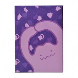 A4 Double Pocket Clear File Ditto japan plush