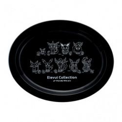 Melamine Plate Black Eievui Collection