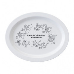 Melamine Plate White Eievui Collection