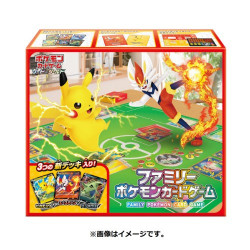 Family Pokémon Card Game Sword And Shield