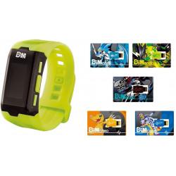 Cartes Dim Set Watch Vital Bracelet Digital Monster Ver. Green