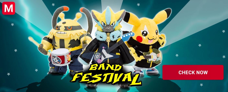 Pokémon Band Festival Pokémon Center